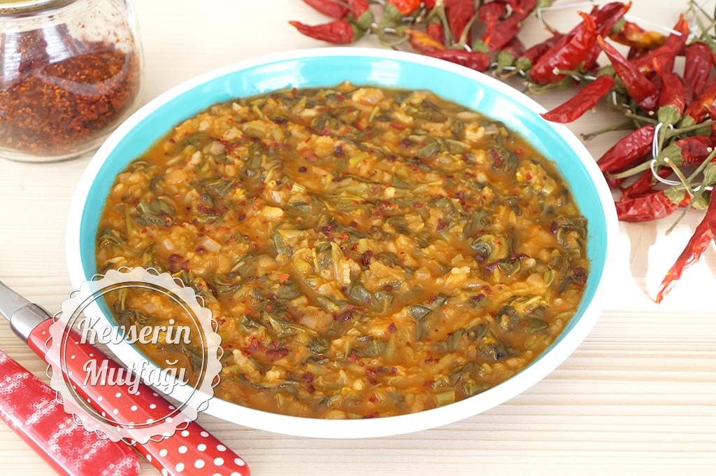 Pirinçli Semizotu Yemeği Tarifi