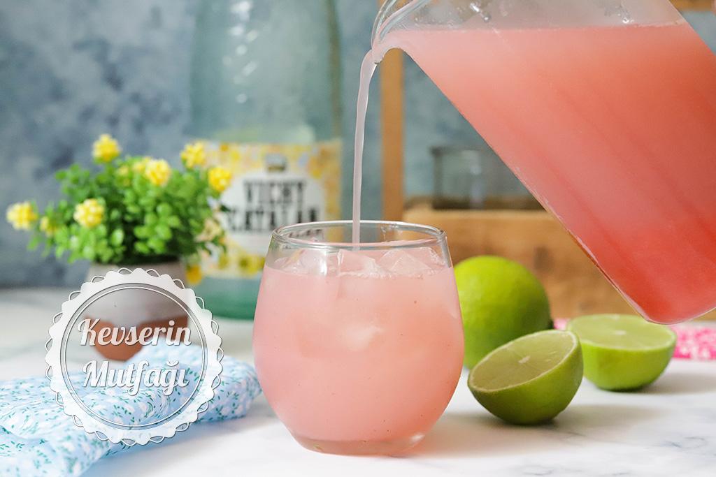 Çilekli Limonata Tarifi