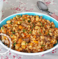 Etli Buğday Kapama Tarifi