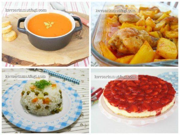 Yemek menüsü — Görsel ve Pratik Yemek Tarifleri